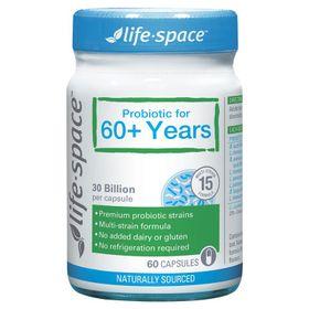 Life Space Probiotic For 60 Years 60 - Men vi sinh dành cho người lớn tuổi giá sỉ