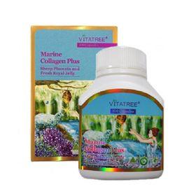 Viên uống Vitatree Marine Collagen Nhau thai cừu và Sữa ong chúa 100 viên - Australia giá sỉ