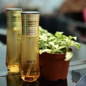 Xịt dưỡng tóc No5 nắp vàng xoắn chai 80ml giá sỉ