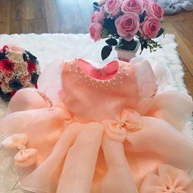 Đầm Công Chúa Hồng Baby