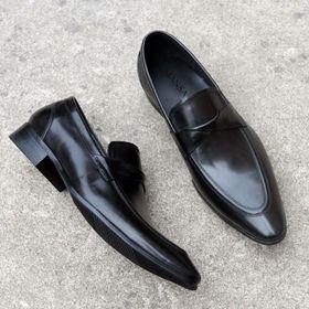 Giày lười nam công sở da bò M209