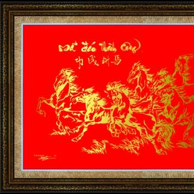 Tranh Nét Vàng - Quà tặng Tân gia khai trương giá sỉ