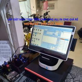 Máy tính tiền All In One cho quán cafe giá rẻ tại Vĩnh Long giá sỉ