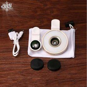Lens Chụp Ảnh Góc Rộng Và Selfie Có Đèn 6 In 1 giá sỉ