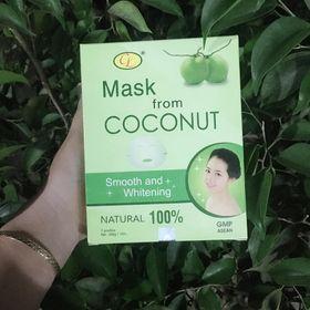 Mặt nạ thạch dừa 100 mặt nạ thạch dừa collagen mặt nạ thạch dừa linh chi