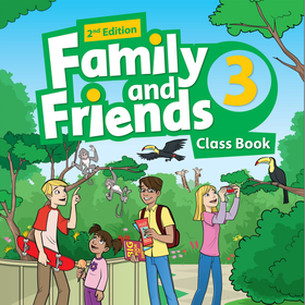 Family and Friends 3 - Class Book Work Book -2nd