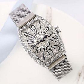 Đồng hồ nữ GUOU 8200 dây kim loại giá sỉ