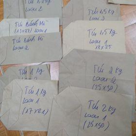 Túi giấy xi măng các loại