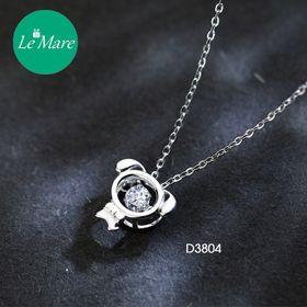 Dây chuyền bạc Diamond Puppy D3804 giá sỉ