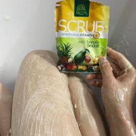 LADA Spa Thái Lan Muối tẩy tế bào chết Scrub và kem tắm trắng Mask Creamtangerine Vitamin C giá sỉ