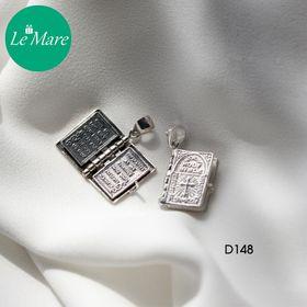 Dây chuyền bạc Holy Bible D148 giá sỉ