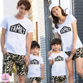 Áo gia đình đẹp cotton mềm mát dày dặn đủ màu đủ size 6-110kg giá sỉ
