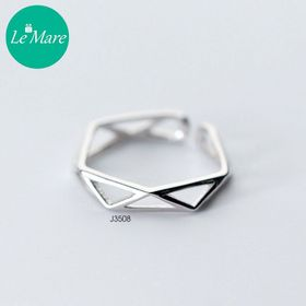 Nhẫn tam giác rỗng J3508 giá sỉ