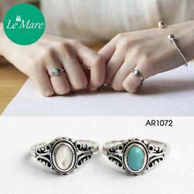Nhẫn mặt đá Retro AR1072 giá sỉ