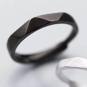 Nhẫn đôi Black and White Nam J3514-2050 giá sỉ