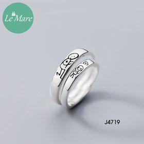 Nhẫn bạc J4719-1450 giá sỉ