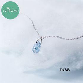 Dây chuyền giọt nước thạch anh xanh D4748-1500 giá sỉ