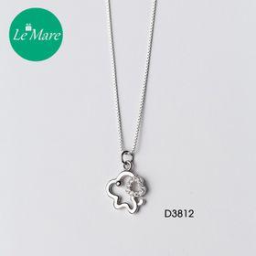 Dây chuyền Diamond Heart Puppy D3812 giá sỉ