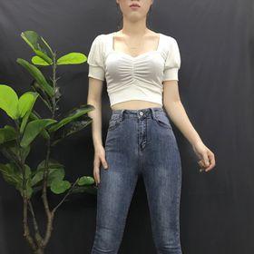 Quần jean lưng cao