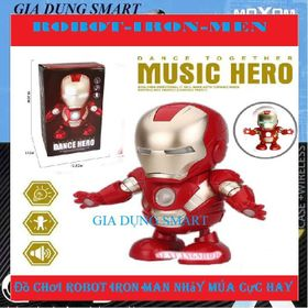 Đồ Chơi Robot Iron Man Nhảy Múa Theo Nhạc giá sỉ