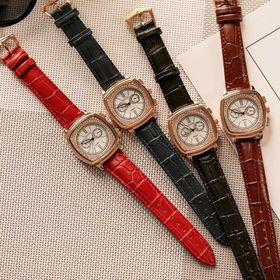 Đồng hồ nữ GUOU 8019 mặt vuông cá tính sang chảnh giá sỉ