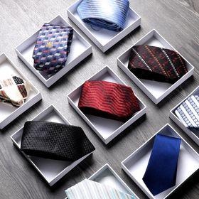 Cà vạt hoạ tiết phong cách nhiều kiểu mẫu mới giá sỉ