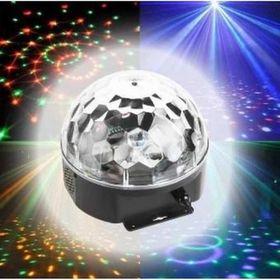 Đèn LED Quả Cầu Cảm Ứng Xoay Pha Lê 7 Màu Nháy Theo Nhạc giá sỉ