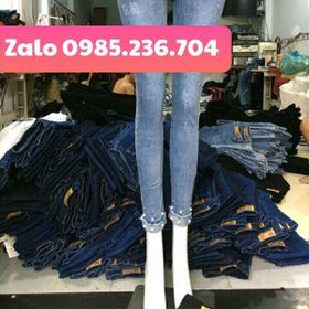 sỉ quần jean dài nữ Giá rẻ