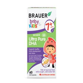 Brauer Baby Kids Ultra Pure DHA - Úc Cho Trẻ Từ 7 Tháng Tuổi - 60 Viên giá sỉ