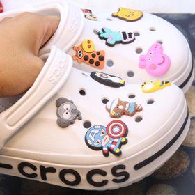 Combo Sticker/ Jibbiz gắn dép Crocs