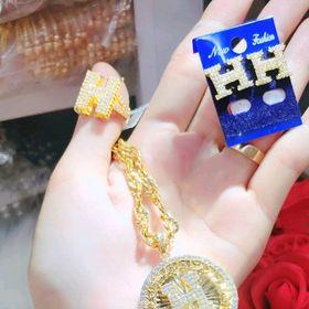 bộ trang sức mạ vàng giá sỉ