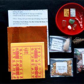 Bộ thất bảo số 3 - Cốt bát hương cốt bát nhang - Bộ lớn giá sỉ
