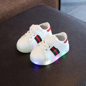 Giày thể thao cho bé trai bé gái con Ong có đèn Led giá sỉ