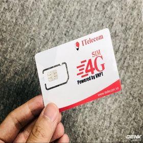sim Vinaphone telecom 4g 90Gb/tháng