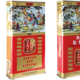 Hồng sâm củ khô hộp thiếc 75g Pocheon Hàn Quốc giá sỉ