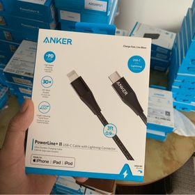 Cáp sạc ANKER PowerLine II cổng USB-C ra Lightning 09m A8652 sạc nhanh cho iPhone iPad