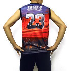 Áo bóng rổ mè có thể xem mẫu
