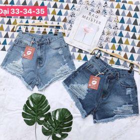 Quần Short Jeans Nữ Size Nhỏ đến lớn giá sỉ