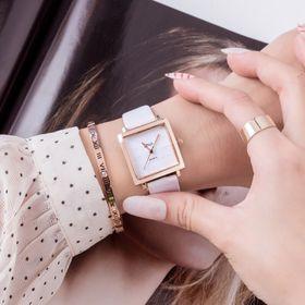 Đồng hồ thời trang nữ dây da