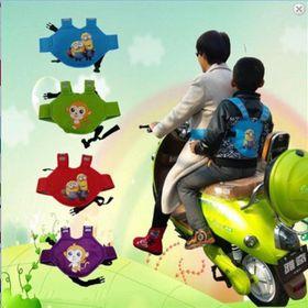 Đai đi xe máy cho Bé dạng balo an toàn Hoạt Hình giá sỉ