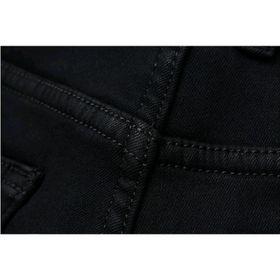 Quần Jeans Nam đen tuyền cao cấp co giãn mạnh giá sỉ
