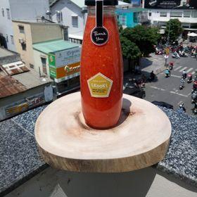 500ml Muối ớt đỏ chai thủy tinh 500ml