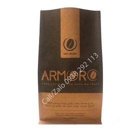 Bao bì đựng cà phê Armoro đáy vuông