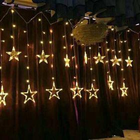 Đèn nháy thả mành hình ngôi sao 5 cánh giá sỉ