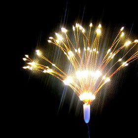 Dây đèn led hiệu ứng pháo hoa màu vàng ấm giá sỉ