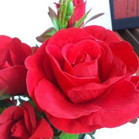 Hoa giả - Hoa hồng nhung cao cấp giá sỉ