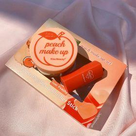 Bộ trang điểm Peach Makeup Just Peachy gồm phấn phủ bột má hồng dạng thỏi giá sỉ