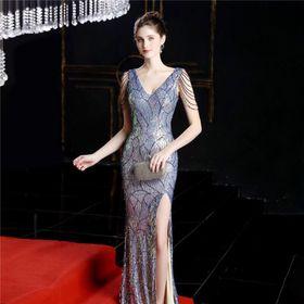 Đầm dạ hội đính đá cao cấp giá sỉ