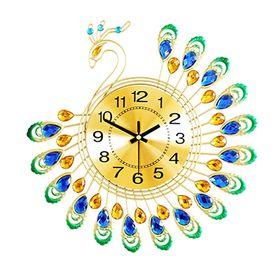 Đồng hồ treo tường con công size 38x38 cm