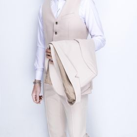 vest nam cao cấp chất vải cực đẹp màu đen sữa giá sỉ